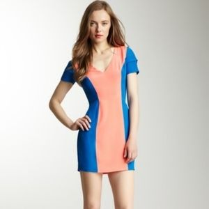 Rebecca Minkoff | silk Katya colorblock dress